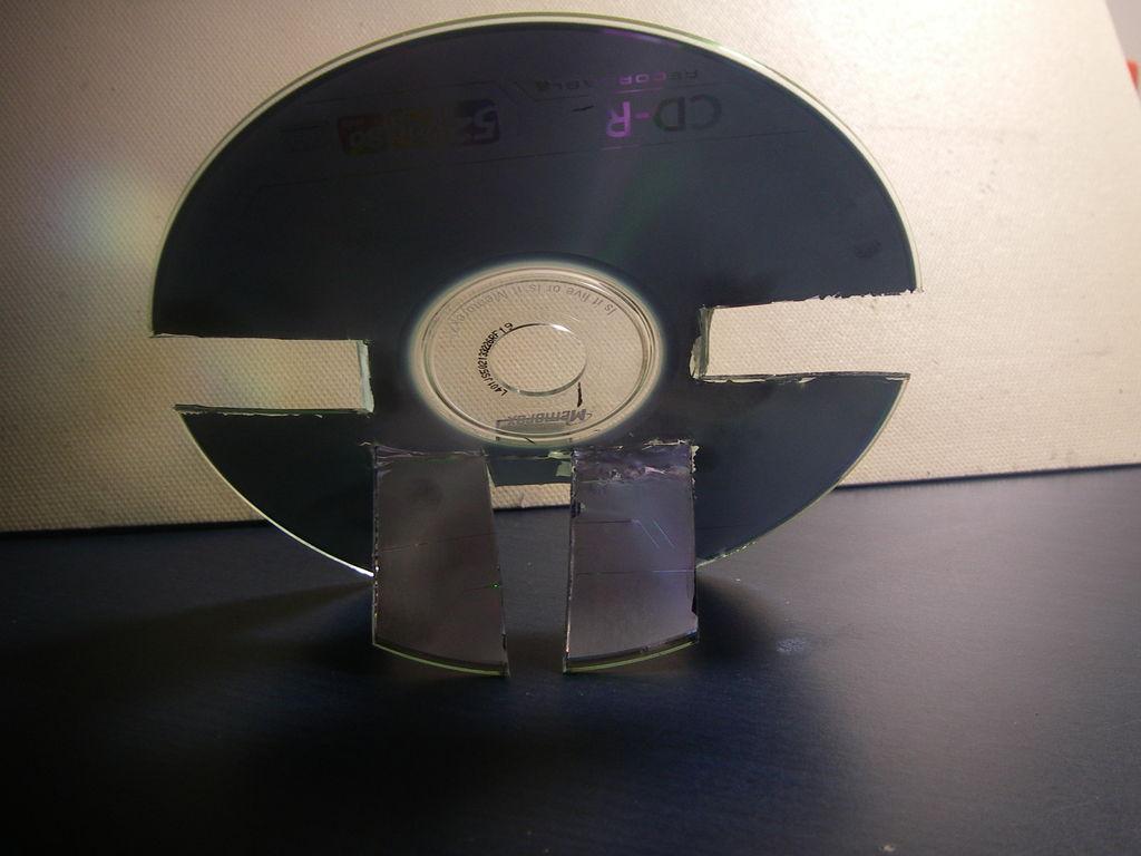 光盘手机支架图片