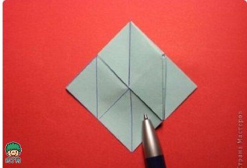立体折纸花球大全图解