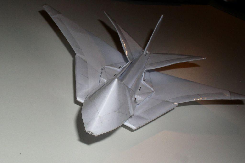动手-纸战斗机